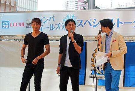 G大阪・東口&丹羽がガールズデーに向け新提案!?