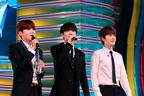 """SUPER JUNIOR-K.R.Y.、めざましライブで「""""眠い""""ライブに来てくれてありがとう」"""