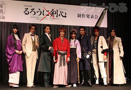 宝塚版『るろうに剣心』、原作者も「バッチリ!」