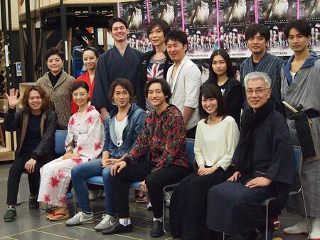 ナオト、ミュージカルに初挑戦『DNA-SHARAKU』