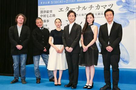 """深津絵里&中村七之助。""""現代版近松""""での美の競演に期待!"""