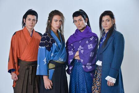 左から、森山栄治、土屋佑壱、鷲尾昇、佐野大樹撮影:源 賀津己