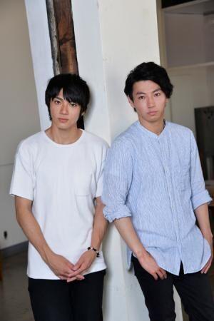 左から、山田裕貴、矢崎広撮影:源 賀津己