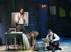 斬新な舞台美術と俳優の生々しい熱演が融合したミュージカル
