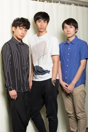 (画像左から)陳内将、市川知宏、中屋敷法仁 撮影:石阪大輔
