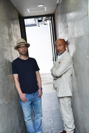 (画像左から)倉持裕、竹中直人 撮影:源賀津己