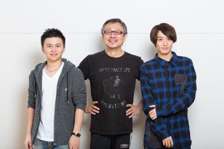 左から、西井幸人、松尾貴史、前山剛久撮影:石阪大輔
