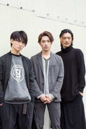 左から、松田凌、安西慎太郎、谷口賢志撮影:石阪大輔