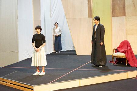 『フェードル』稽古の模様 撮影:矢野智美