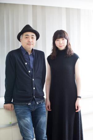 松尾スズキと平岩紙撮影:石阪大輔