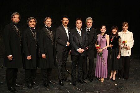 『レ・ミゼラブル』日本初演30周年記念日スペシャル・カーテンコール囲み取材より