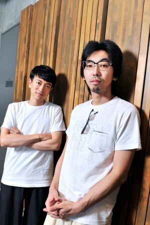 左から、篠山輝信、柄本時生撮影:桑原克典