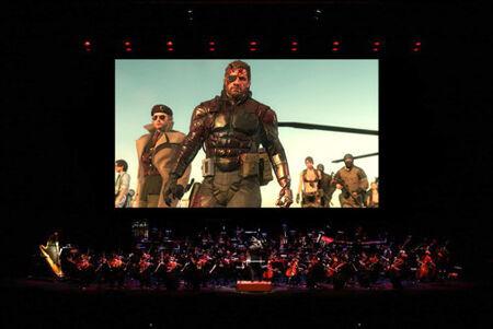 『メタルギア in コンサート』 (C)Konami Digital Entertainment