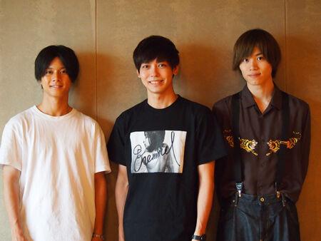 (画像左から)石原壮馬、猪塚健太、太田将熙