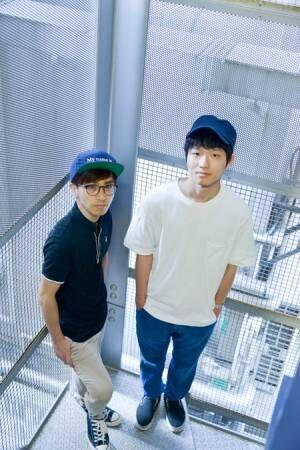 左から、谷川正憲、加藤拓也