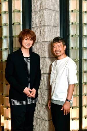 左から、浦井健治、ヤン・ジョンウン撮影:松谷祐増