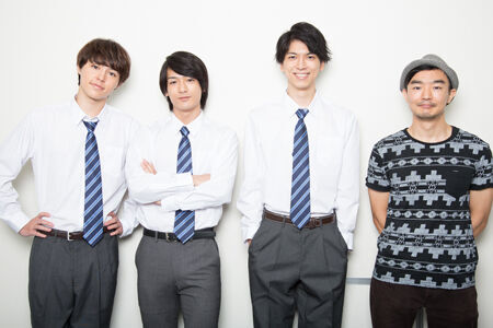 (画像左から)森田桐矢、小早川俊輔、小松準弥、伊藤靖朗撮影:石阪大輔