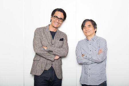 左から、橋本さとし、中島かずき撮影:石阪大輔