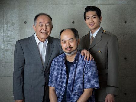 (画像左から)橋爪功、森新太郎、松下洸平撮影:星野 洋介