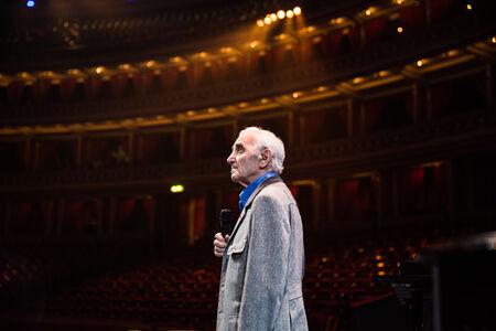 シャルル・アズナヴール (c) Nicholas Aznavour