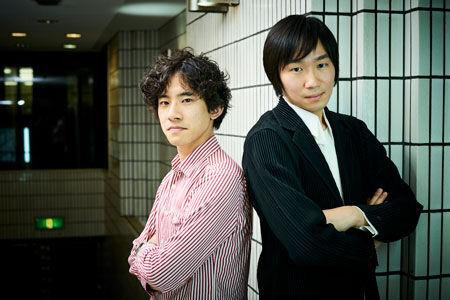 左から、上野耕平、阪田知樹撮影:吉田タカユキ