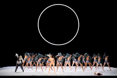 ハンブルク・バレエ団「ニジンスキー」より(C)Kiran West