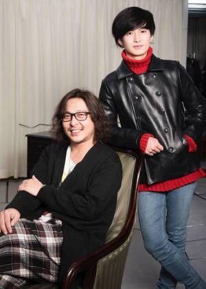 左から、西田大輔、松田凌撮影:川野結李歌