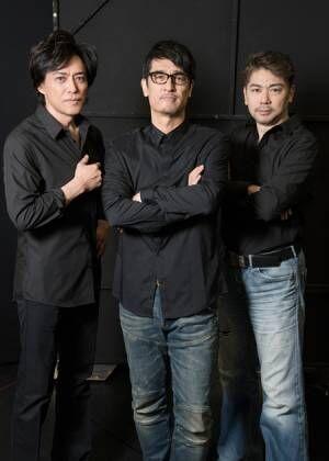 (画像左から)石井一孝、橋本さとし、岸祐二撮影:川野結李歌