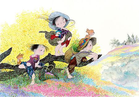 「春の風」2011年(C)中島潔