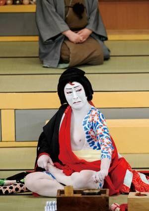 写真は平成22年3月歌舞伎座『弁天娘女男白浪』弁天小僧菊之助の舞台より