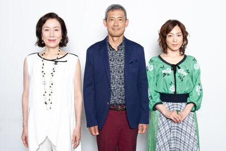(画像左から)高畑淳子、鶴見辰吾、若村麻由美撮影:イシイノブミ