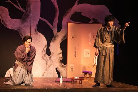 『うつろのまこと-近松浄瑠璃久遠道行』撮影:岩田えり
