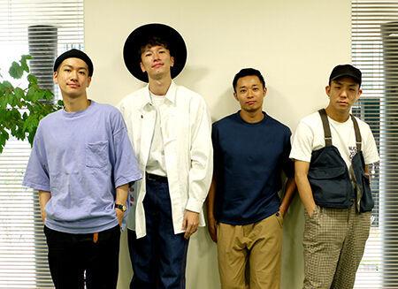 左よりOguri、NOPPO、shoji、kazuki