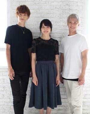 (画像左から)小野健斗、矢島舞美、味方良介