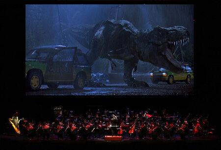 「ジュラシック・パークinコンサート」 TM & (C)Universal Studios and Amblin