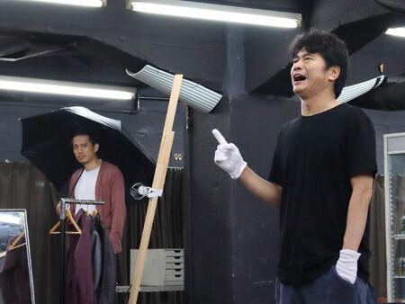 舞台『死神の精度 ~7 Days Judgement』稽古場より