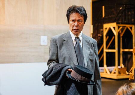ミュージカル「生きる」稽古場取材より (C)ホリプロ