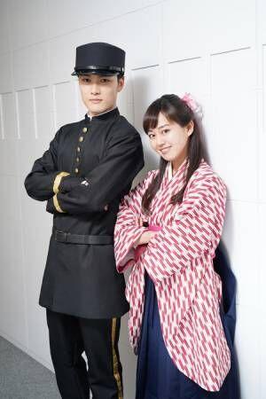 (画像左から)入江甚儀、宮崎香蓮撮影:源賀津己