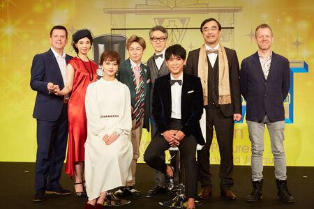 ミュージカル「TOP HAT」制作発表より撮影:石阪大輔