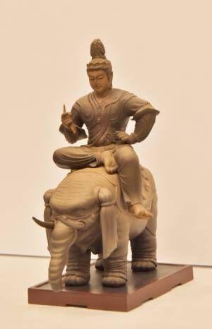 特別展「国宝東寺-空海と仏像曼荼羅 」会見より (C)KAIYODO