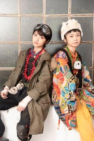 舞台「鉄コン筋クリート」 (画像左から)若月佑美(乃木坂46)、三戸なつめ 撮影川野結李歌