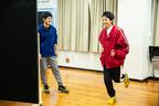 宮崎秋人と木村了が正反対のランナーを演じる稽古に潜入