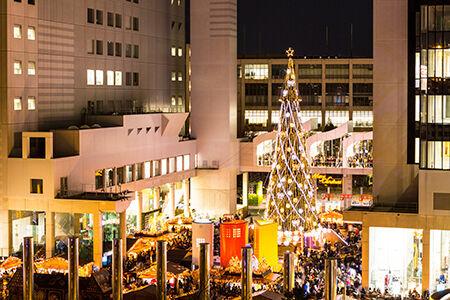冬色に煌めく梅田の街を巡る「梅田スカイビルXmas 2018」開催!