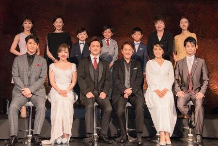 ミュージカル「ラブ・ネバー・ダイ」製作発表より 撮影:川野結李歌
