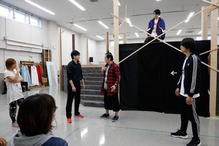 「歳が暮れ・るYO 明治座大合戦祭」稽古場より 撮影:岩村美佳