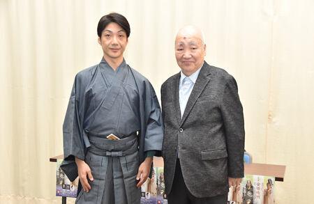 (画像左から)野村萬斎、梅若実玄祥