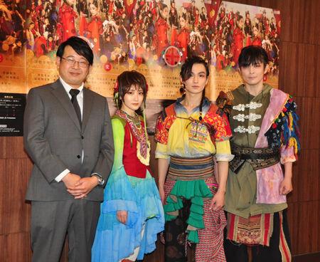左から毛利亘宏、生駒里奈、松田凌、井俣太良