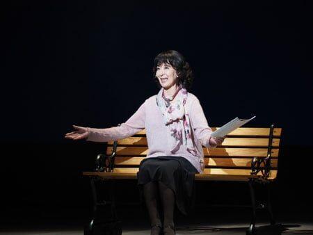 「舞台っておもしろい」岸惠子ひとり語り『輝ける夕暮れ』開幕