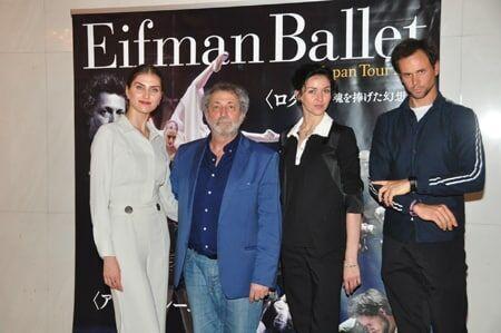 エイフマン・バレエ、21年ぶり来日 唯一無二のスタイルに自信