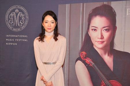 諏訪内晶子、自ら立ち上げた「国際音楽祭NIPPON」は音楽への「恩返し」
